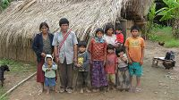 Family from the Bolivian Amazon