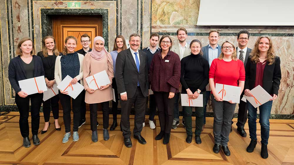 <p>Semester awards were presented to students for outstanding work. (Image: Frank Br&uuml;derli)</p>