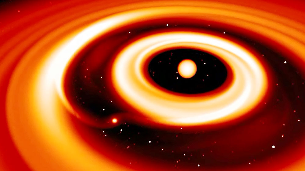 UZH - UZH News - How giant planets form