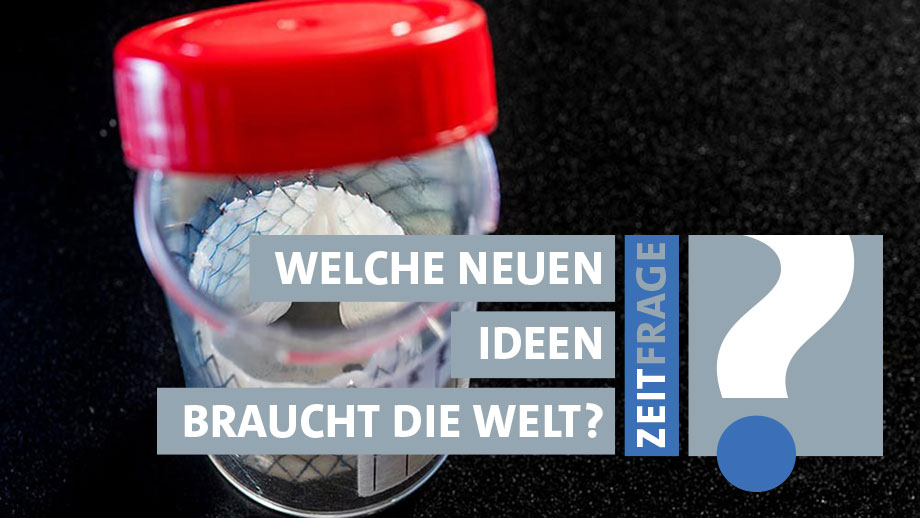 Eine Herzklappe der nächsten Generation: Sie bietet ein Gerüst für körpereigene Zellen. (Bild: Ursula Meisser)