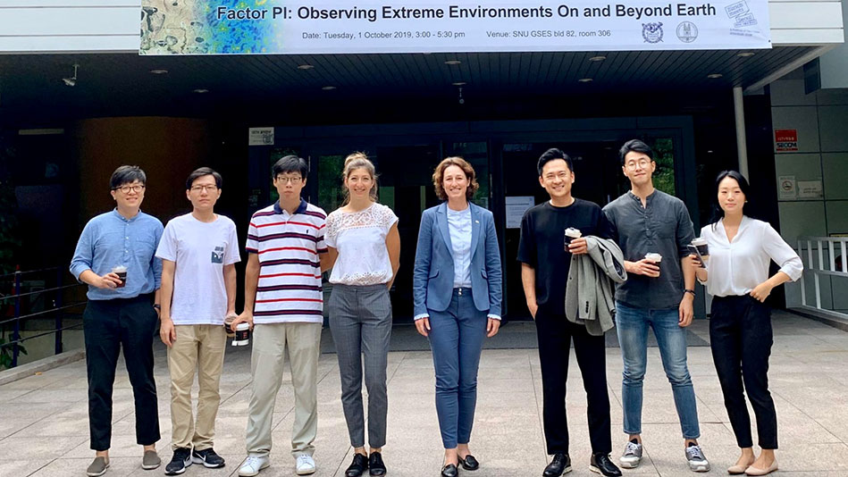 <p>At the third academic event of Zurich meets Seoul, led by environmental scientist Gabriela Schaepman-Strub (fourth from right) and astrophysicist Jaiyul Yoo, it quickly became clear that there were many potential areas in which the two cities could collaborate on research in the natural sciences. (Picture: Priska Feichter)</p>