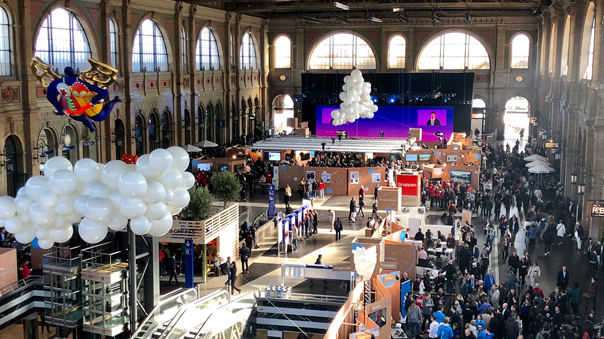 <p>Digital Day drew a large crowd.</p> (Image: Priska Feichter)