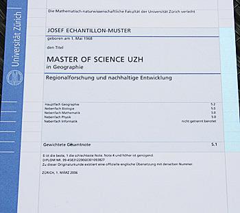 Uzh News Neue Diplome Für Bachelor Und Master Studiengänge