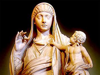uzh - news - die macht der frauen im antiken rom